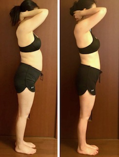 DNAダイエットbefore&afterの写真